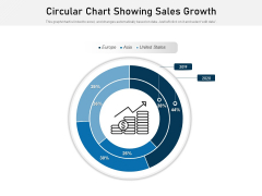 Circular Chart Showing Sales Growth Ppt PowerPoint Presentation File Images PDF
