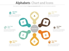Circular Chart With Icons For Value Chain Powerpoint Template