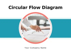 Circular Flow Diagram Execution Planning Initiation Ppt PowerPoint Presentation Complete Deck
