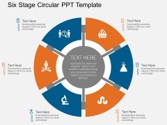 Circular Free PowerPoint Slide