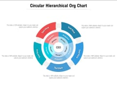 Circular Hierarchical Org Chart Ppt PowerPoint Presentation Ideas File Formats
