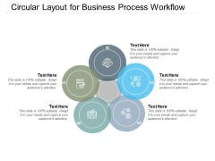 Circular Layout For Business Process Workflow Ppt PowerPoint Presentation Slides Examples