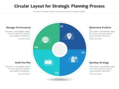 Circular Layout For Strategic Planning Process Ppt PowerPoint Presentation Portfolio Outfit PDF