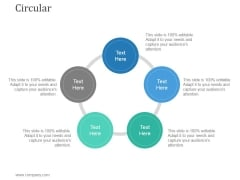 Circular Ppt PowerPoint Presentation Deck