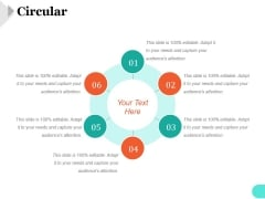 Circular Ppt PowerPoint Presentation Diagrams