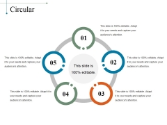 Circular Ppt PowerPoint Presentation File Visuals
