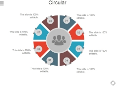Circular Ppt PowerPoint Presentation Gallery Example Topics