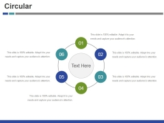 Circular Ppt PowerPoint Presentation Gallery Format Ideas