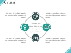Circular Ppt PowerPoint Presentation Gallery Graphics Template