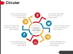 Circular Ppt PowerPoint Presentation Gallery Portrait