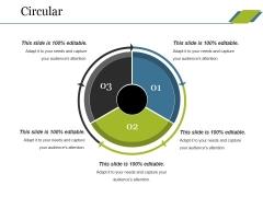 Circular Ppt PowerPoint Presentation Ideas Introduction