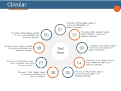 Circular Ppt PowerPoint Presentation Infographic Template