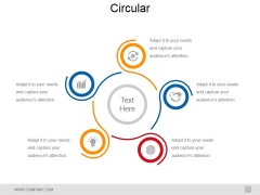 Circular Ppt PowerPoint Presentation Infographic Template Vector