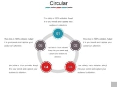 Circular Ppt PowerPoint Presentation Infographics Slide Download
