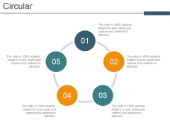 Circular Ppt PowerPoint Presentation Inspiration Graphics