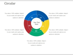 Circular Ppt PowerPoint Presentation Model Elements