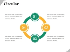 Circular Ppt PowerPoint Presentation Model Graphic Tips
