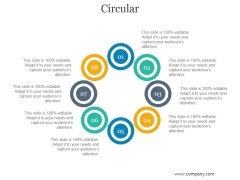 Circular Ppt PowerPoint Presentation Model