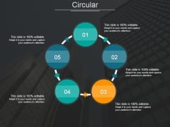 Circular Ppt PowerPoint Presentation Model Structure