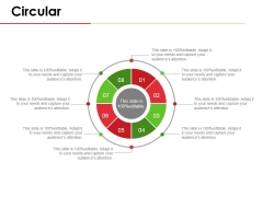 Circular Ppt PowerPoint Presentation Outline Example Topics