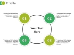 Circular Ppt PowerPoint Presentation Outline Sample