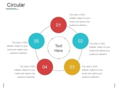 Circular Ppt PowerPoint Presentation Outline Samples