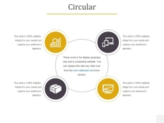 Circular Ppt PowerPoint Presentation Pictures Designs Download