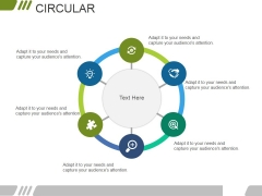 Circular Ppt PowerPoint Presentation Portfolio Icon
