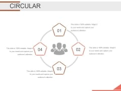 Circular Ppt PowerPoint Presentation Portfolio Master Slide