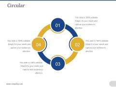 Circular Ppt PowerPoint Presentation Portfolio Templates