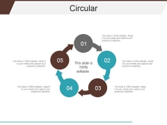 Circular Ppt PowerPoint Presentation Professional Aids