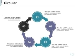 Circular Ppt PowerPoint Presentation Professional Elements