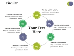 Circular Ppt PowerPoint Presentation Professional Master Slide