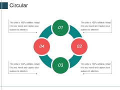 Circular Ppt Powerpoint Presentation Professional Templates