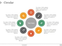 Circular Ppt PowerPoint Presentation Rules