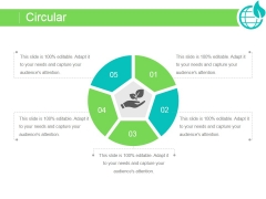 Circular Ppt PowerPoint Presentation Sample