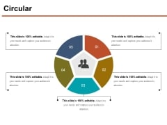 Circular Ppt PowerPoint Presentation Show Microsoft