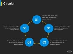 Circular Ppt PowerPoint Presentation Slides Model