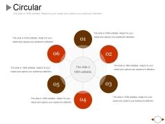Circular Ppt PowerPoint Presentation Styles Grid
