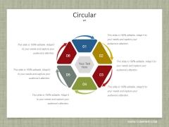 Circular Ppt PowerPoint Presentation Summary Aids