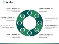 Circular Ppt PowerPoint Presentation Summary Infographics