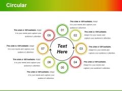 Circular Ppt PowerPoint Presentation Summary Skills