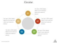 Circular Ppt PowerPoint Presentation Template