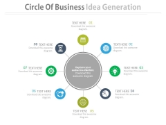 Circular Process Business Infographic Diagram Powerpoint Template