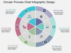 Circular Process Chart Infographic Design Powerpoint Template