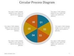 Circular Process Diagram Ppt PowerPoint Presentation Example File