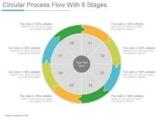 Circular Process Flow With 8 Stages Ppt PowerPoint Presentation Templates