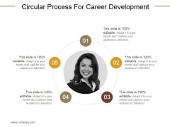 Circular Process For Career Development Ppt PowerPoint Presentation Picture