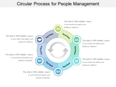 Circular Process For People Management Ppt PowerPoint Presentation Gallery Sample PDF