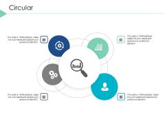 Circular Process Management Ppt PowerPoint Presentation Slides Structure